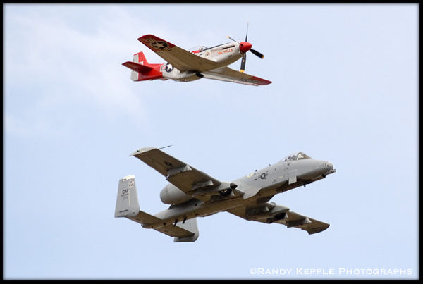 P-51 and A-10