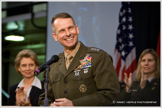 The Day General Peter Pace Came to Town