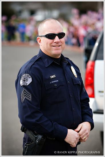 Vancouver Washington Policeman by Randy Kepple Photographs