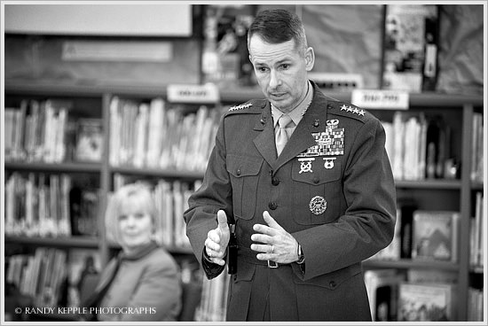 General Peter Pace by Randy Kepple Photographs