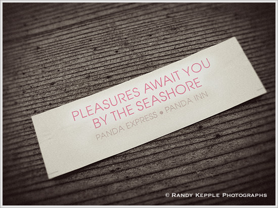 Fortune Cookie Wisdom