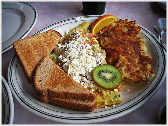 Breakfast at Vera's in Ballard, Washington