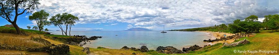 Maui Hawaii Panoramic by Randy Kepple Photographs