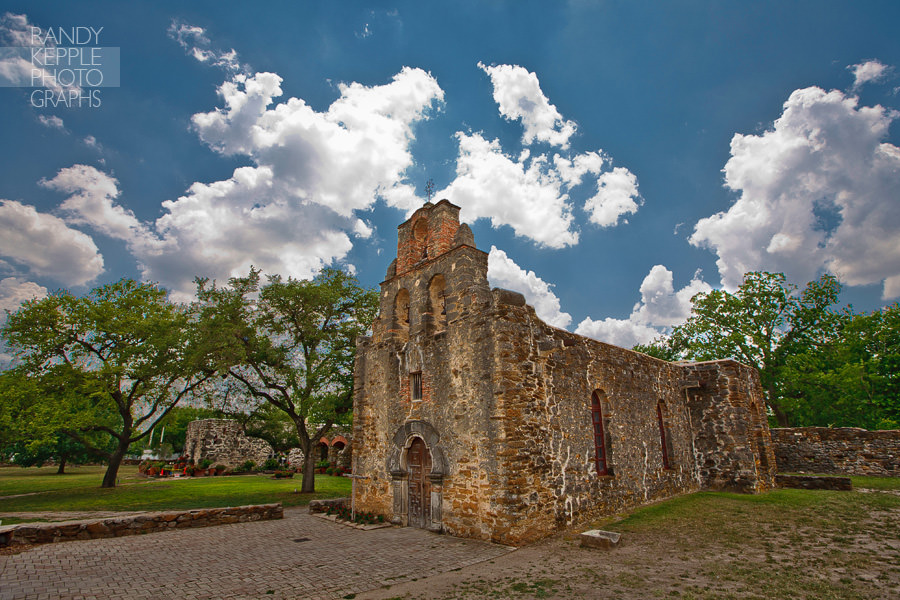 Randy Kepple Photographs San Antonio Texas Mission