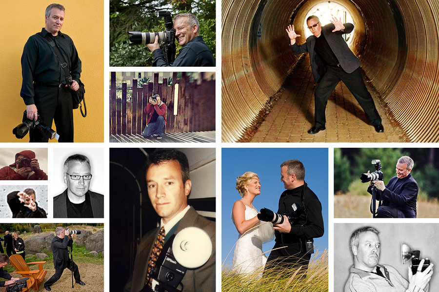 Collage of Randy Kepple