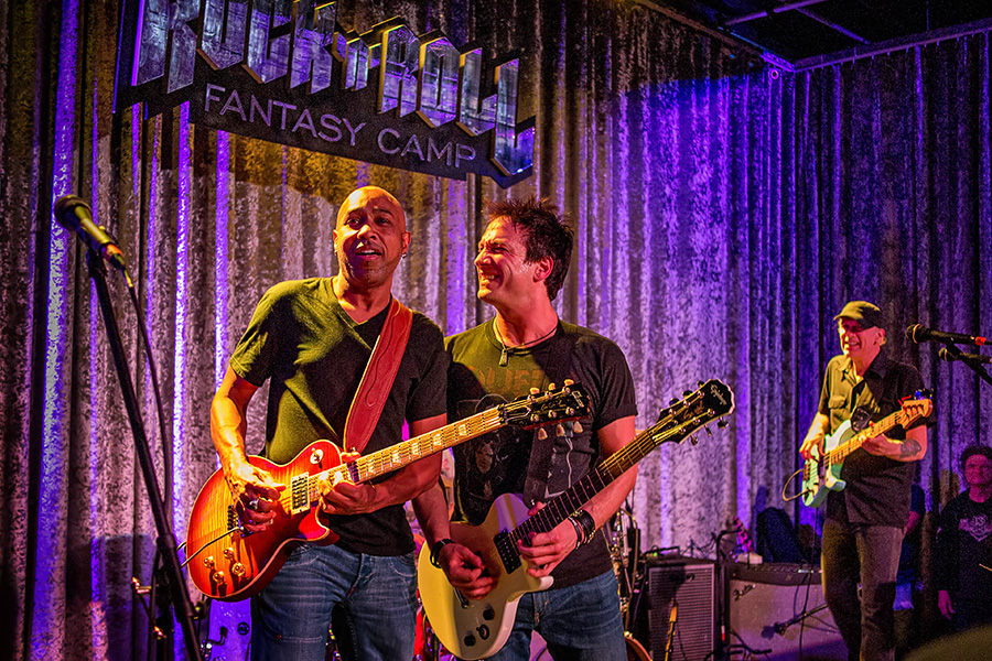 Living the Dream – Rock and Roll Fantasy Camp